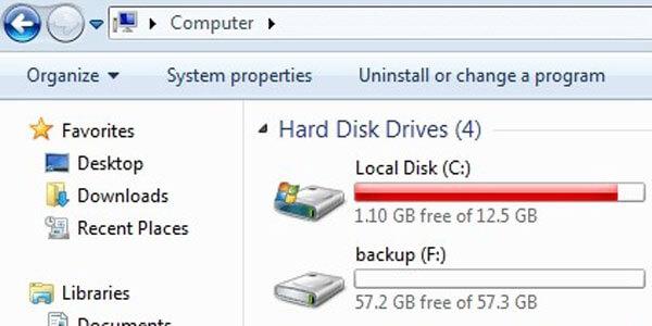 Hard disk repair service
