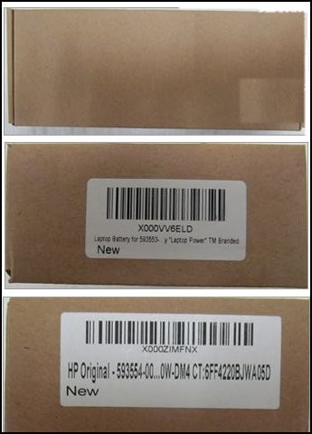 Fake Laptop part packaging