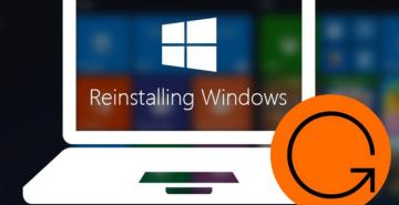 Re-install windows OS