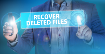 Recover deleted data from Laptop