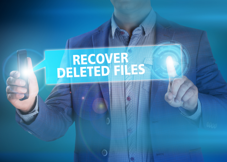 Can I recover the deleted data from my laptop?